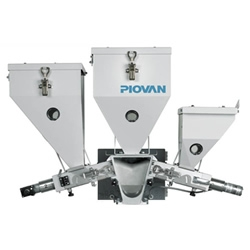 Piovan Launch Continuous Loss in Weight Gravimetric Blender