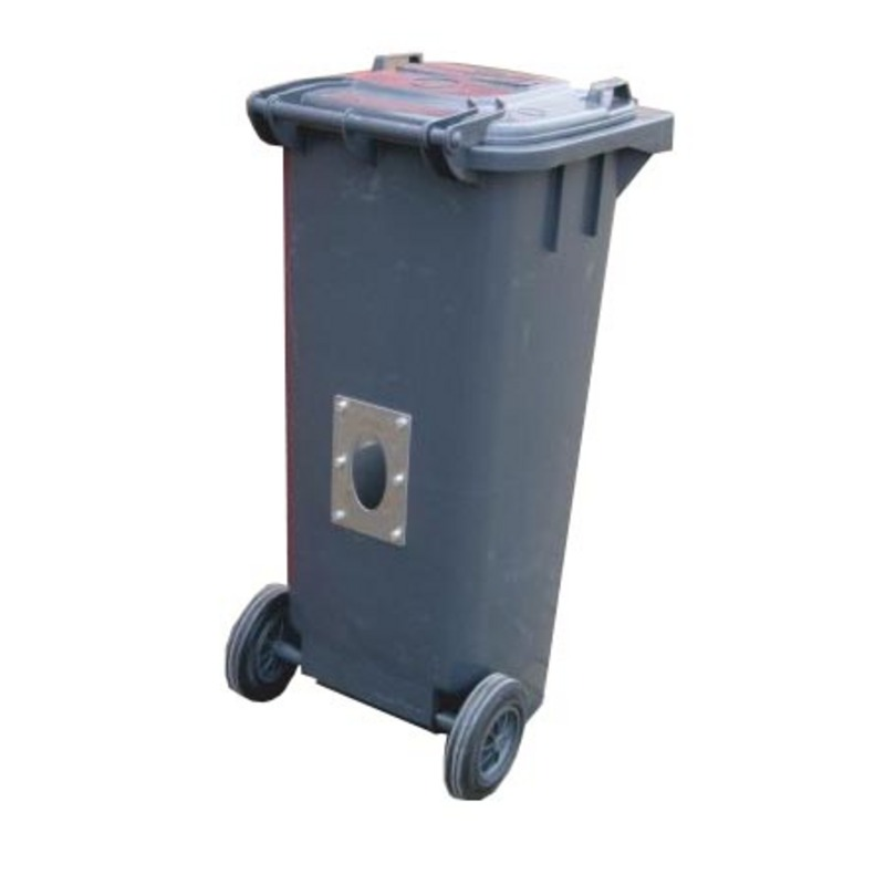 Wheelie Bin 120 ltr ~ With or Without Socket for Loader Probe