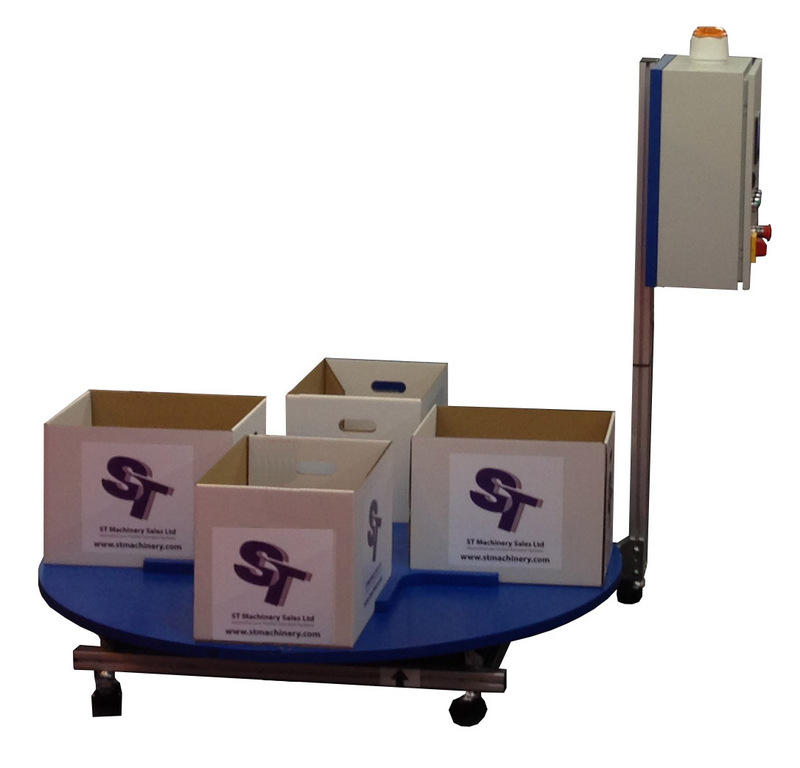 Box Filling Carousel