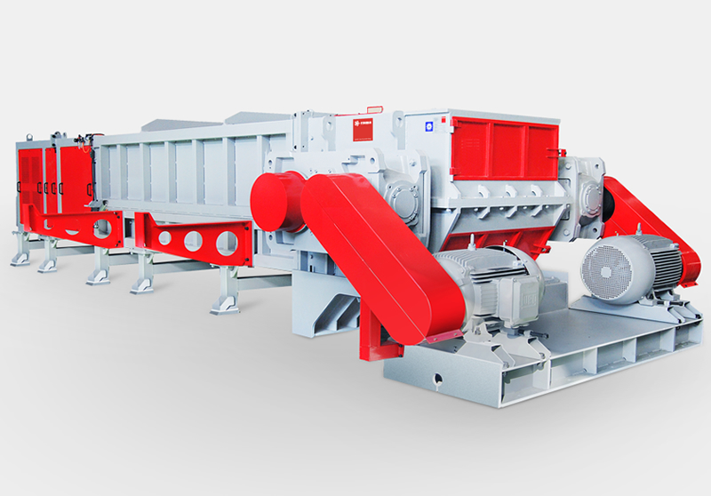 EPS Series Shredder for Large Diameter Pipe